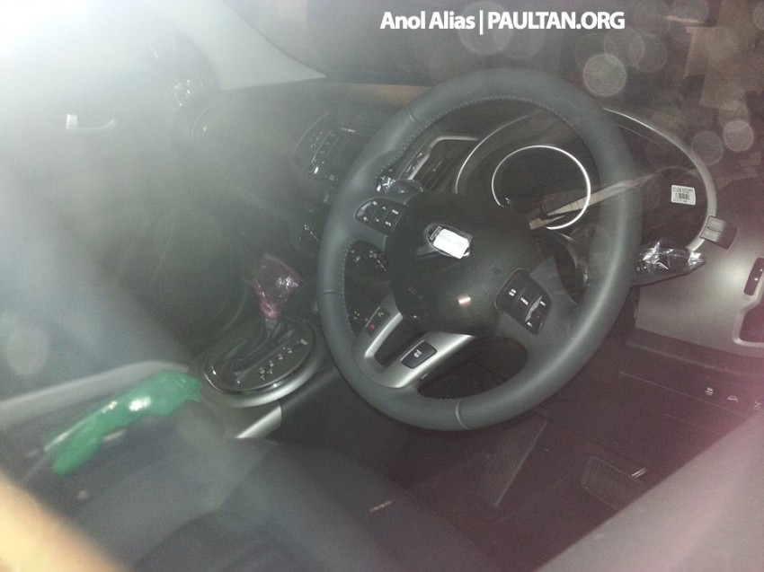 Kia Sportage facelift sighted at JPJ Putrajaya Image #223045