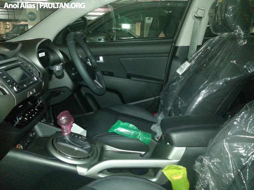 Kia Sportage facelift sighted at JPJ Putrajaya Image #223048
