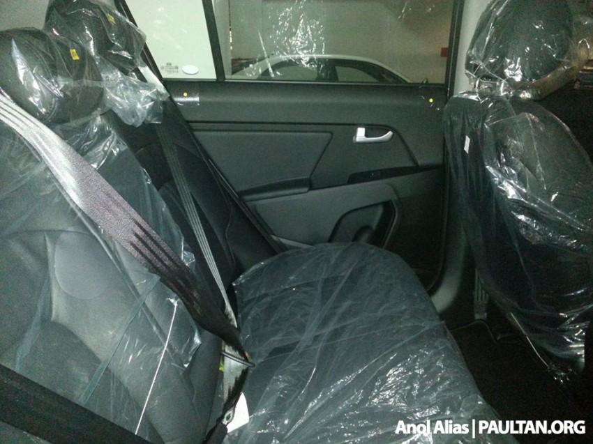 Kia Sportage facelift sighted at JPJ Putrajaya Image #223049