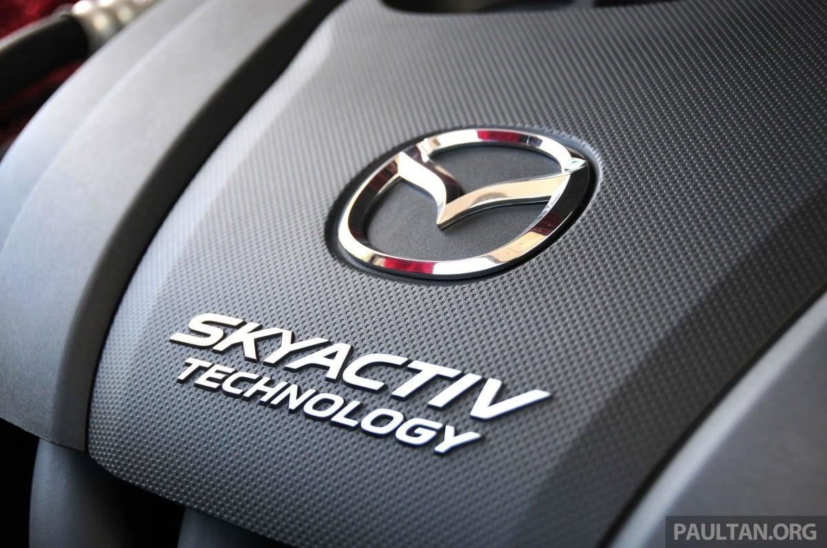 Mazda skyactiv cars pre qualified as eev reports mazda skyactiv 001 biocorpaavc Choice Image