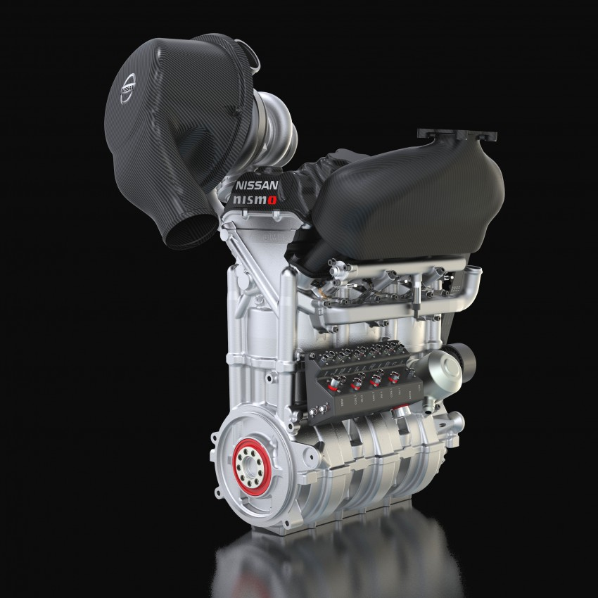 Nissan unveils new 1.5 litre race engine with 400 hp Image #224876