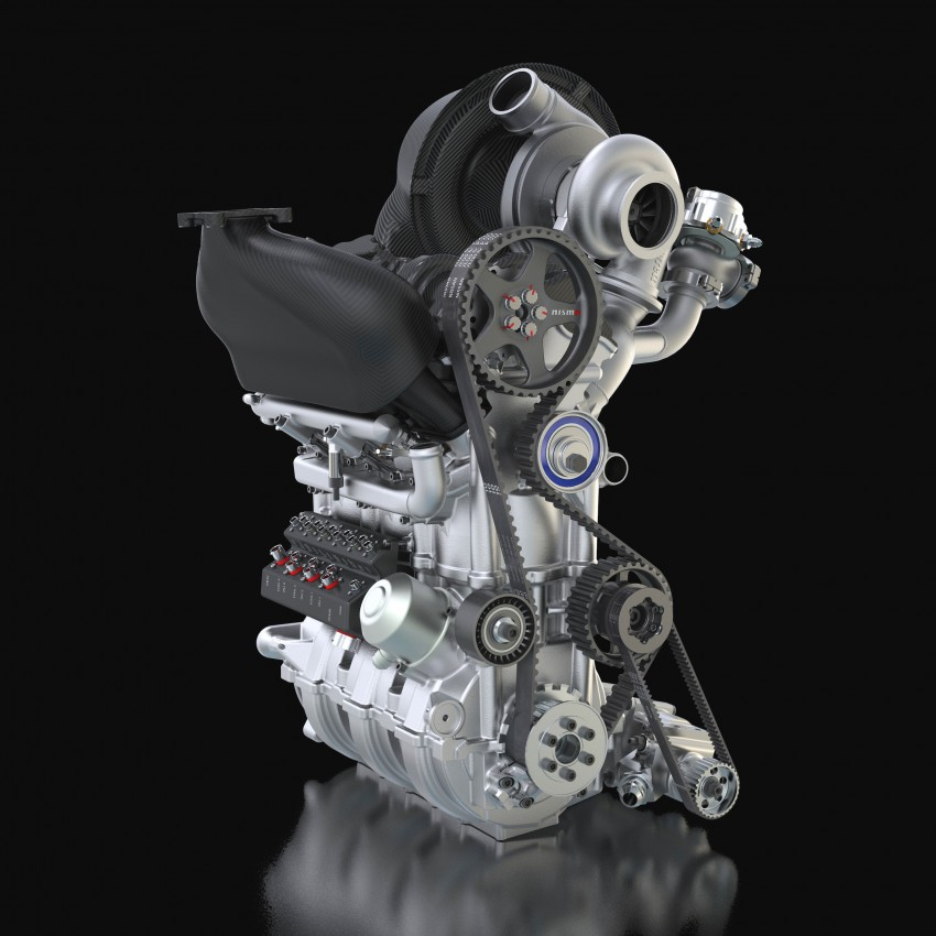 Nissan unveils new 1.5 litre race engine with 400 hp Image #224877