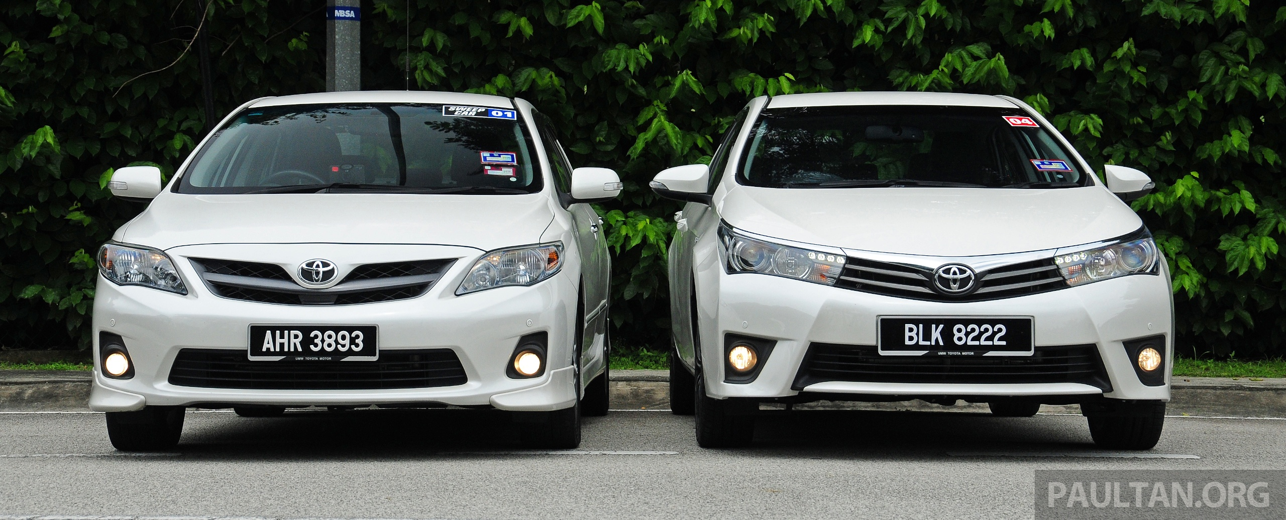 Gallery Old And New Toyota Corolla Altis Compared Paul