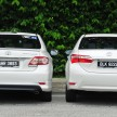 Old_new_2014_Toyota_Corolla_Altis_compared_ 007