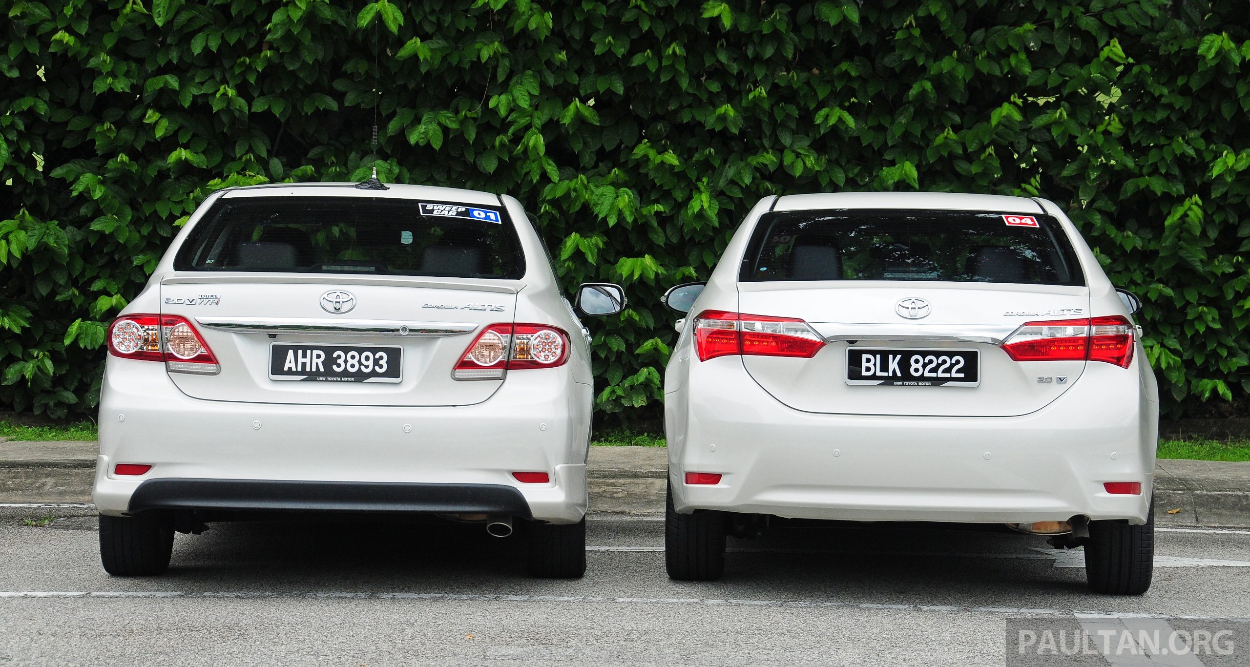GALLERY: Old and new Toyota Corolla Altis compared Image 222549