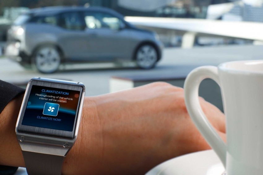 BMW i Remote App – now offering BMW i3 info through the Samsung Galaxy Gear smartwatch Image #221037