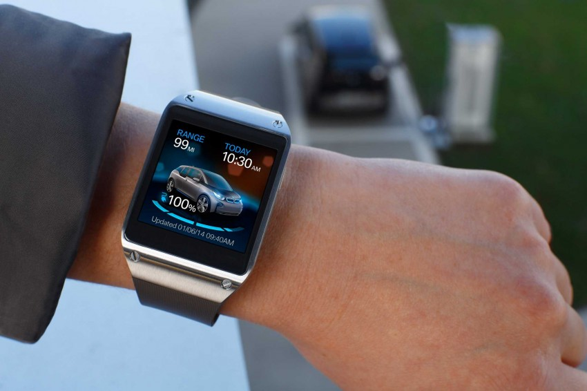 BMW i Remote App – now offering BMW i3 info through the Samsung Galaxy Gear smartwatch Image #221039