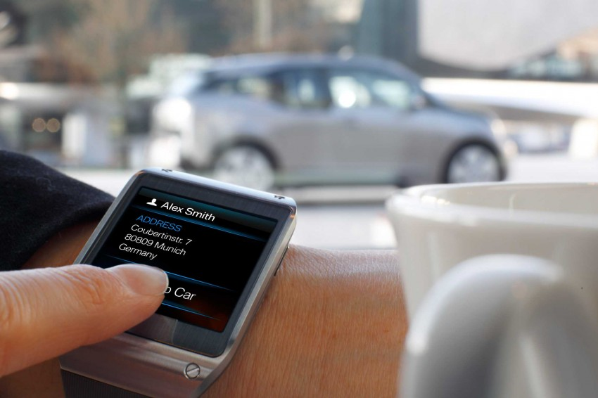 BMW i Remote App – now offering BMW i3 info through the Samsung Galaxy Gear smartwatch Image #221040