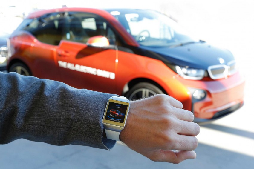 BMW i Remote App – now offering BMW i3 info through the Samsung Galaxy Gear smartwatch Image #221043