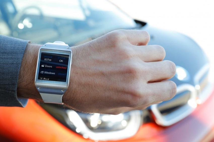 BMW i Remote App – now offering BMW i3 info through the Samsung Galaxy Gear smartwatch Image #221046