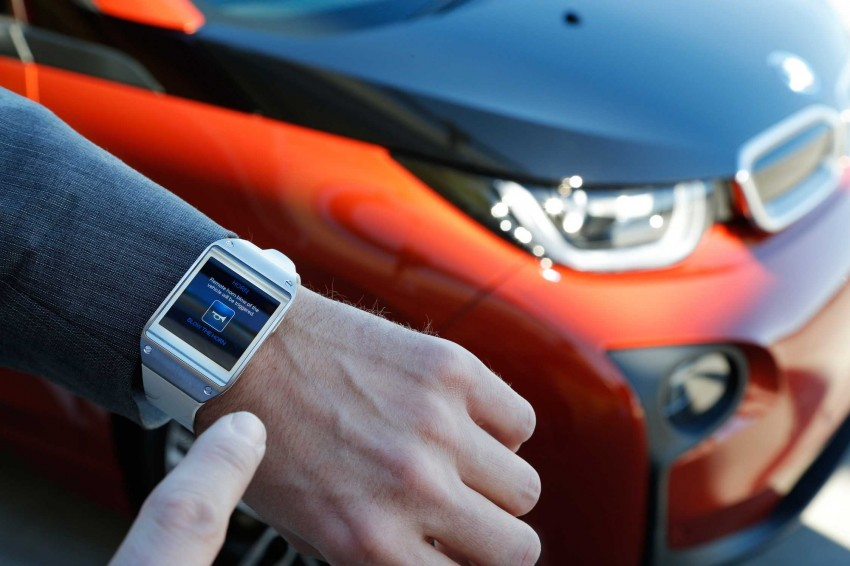 BMW i Remote App – now offering BMW i3 info through the Samsung Galaxy Gear smartwatch Image #221047