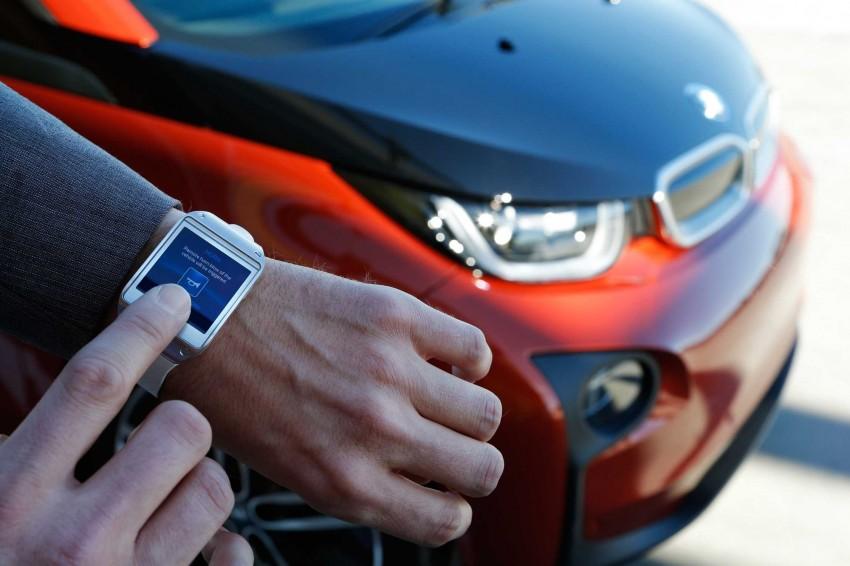 BMW i Remote App – now offering BMW i3 info through the Samsung Galaxy Gear smartwatch Image #221048