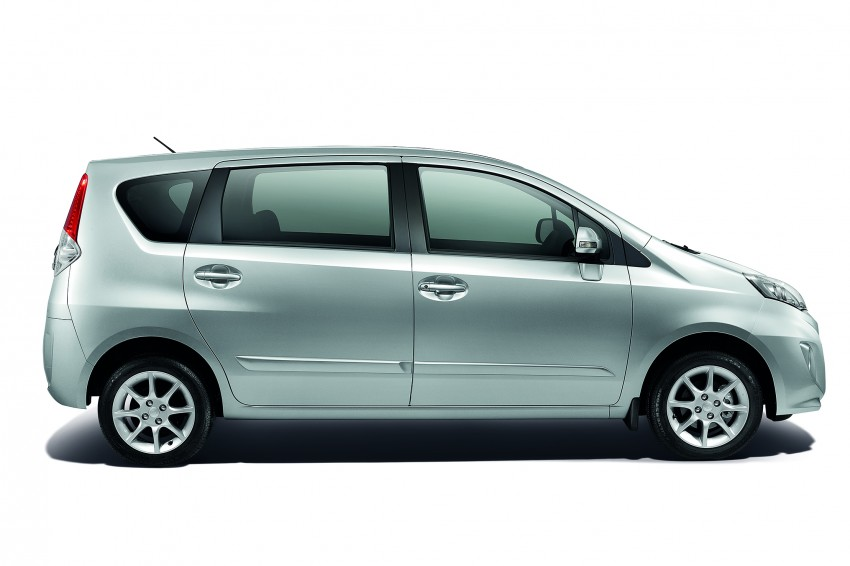 Perodua Alza facelift officially revealed, from RM52,400 Image #221531