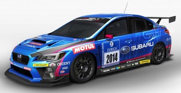 Subaru Nurburgring racer