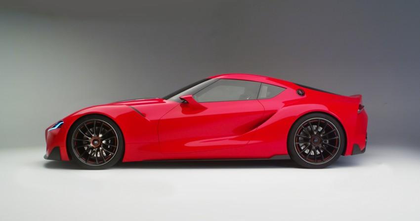 Toyota FT-1 concept shocks Detroit – the next Supra? Image #221963