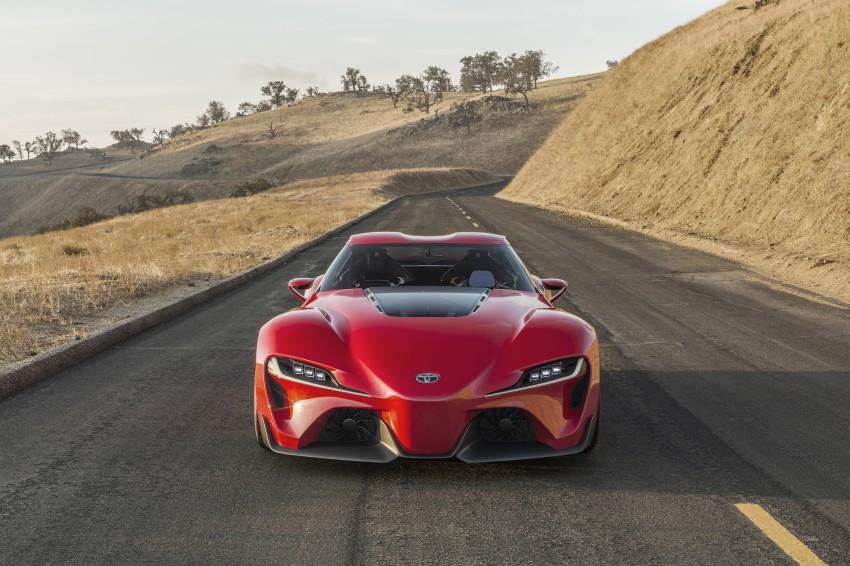 Toyota FT-1 concept shocks Detroit – the next Supra? Image #221968