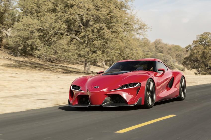 Toyota FT-1 concept shocks Detroit – the next Supra? Image #221969