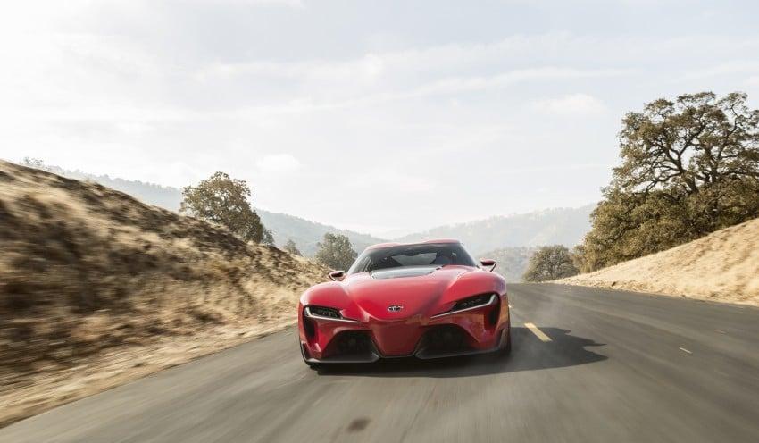 Toyota FT-1 concept shocks Detroit – the next Supra? Image #221970
