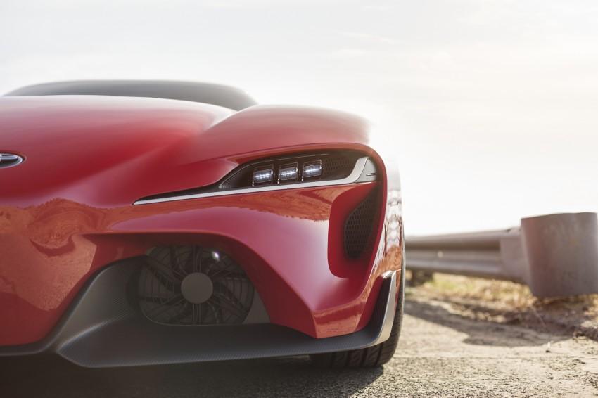 Toyota FT-1 concept shocks Detroit – the next Supra? Image #221972