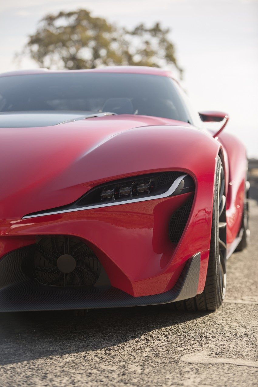 Toyota FT-1 concept shocks Detroit – the next Supra? Image #221973