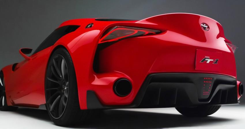 Toyota FT-1 concept shocks Detroit – the next Supra? Image #221974