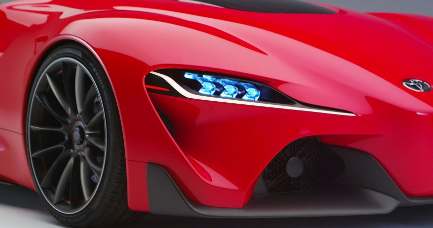 Toyota FT-1 concept shocks Detroit – the next Supra? Image #221976