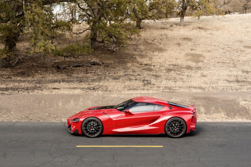 Toyota FT-1 concept shocks Detroit – the next Supra? Image #221983