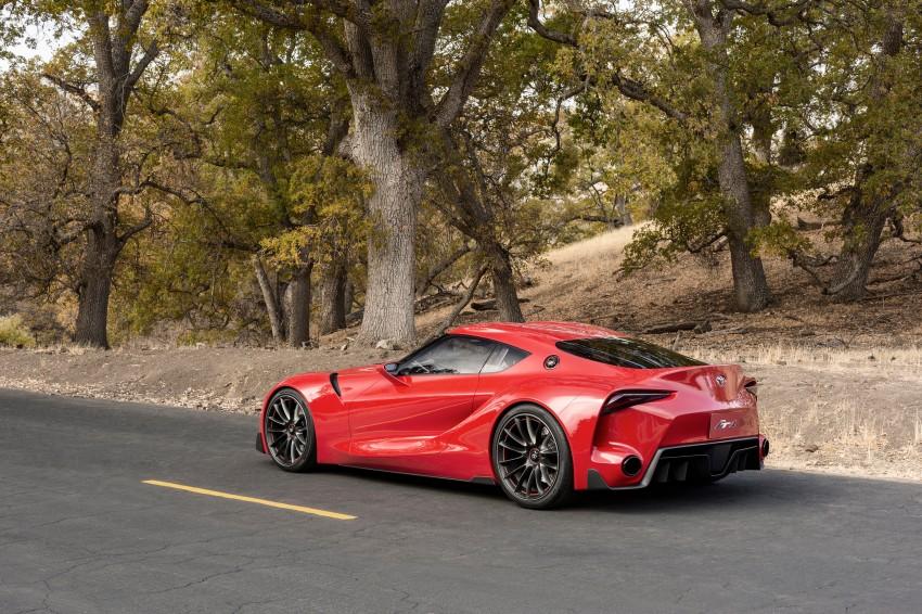 Toyota FT-1 concept shocks Detroit – the next Supra? Image #221992