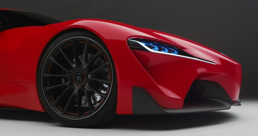 Toyota FT-1 concept shocks Detroit – the next Supra? Image #222004