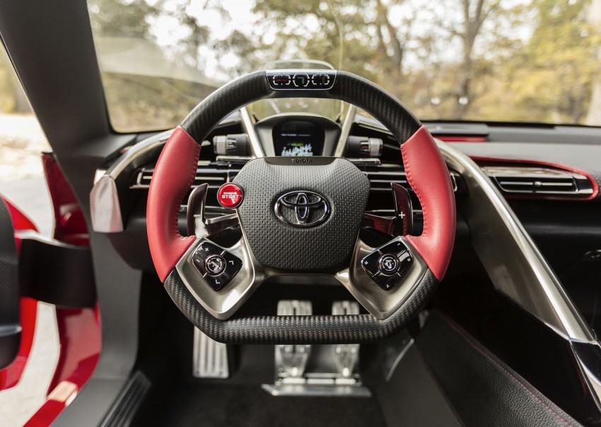 Toyota FT-1 concept shocks Detroit – the next Supra? Image #221985