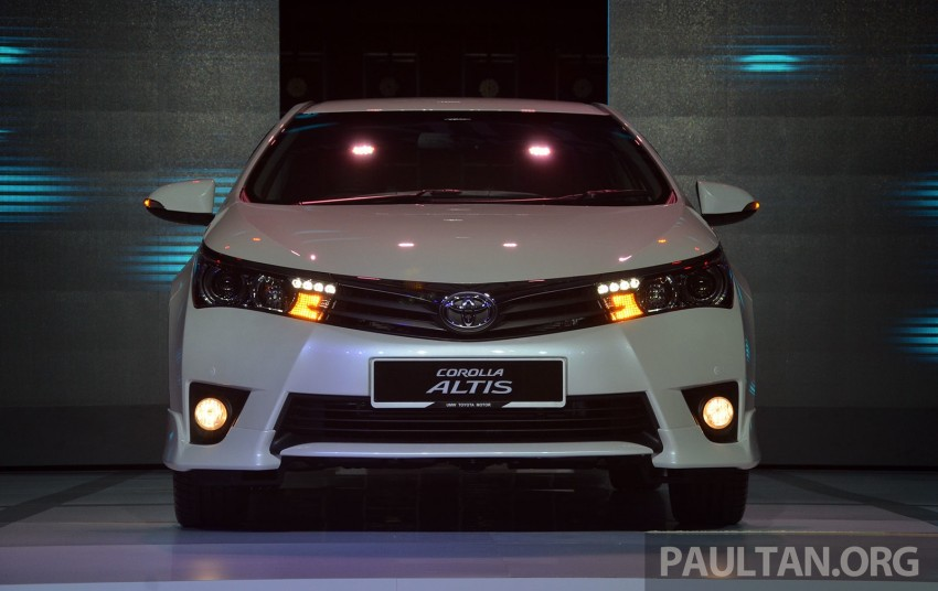 2014 Toyota Corolla Altis officially launched Image #223099