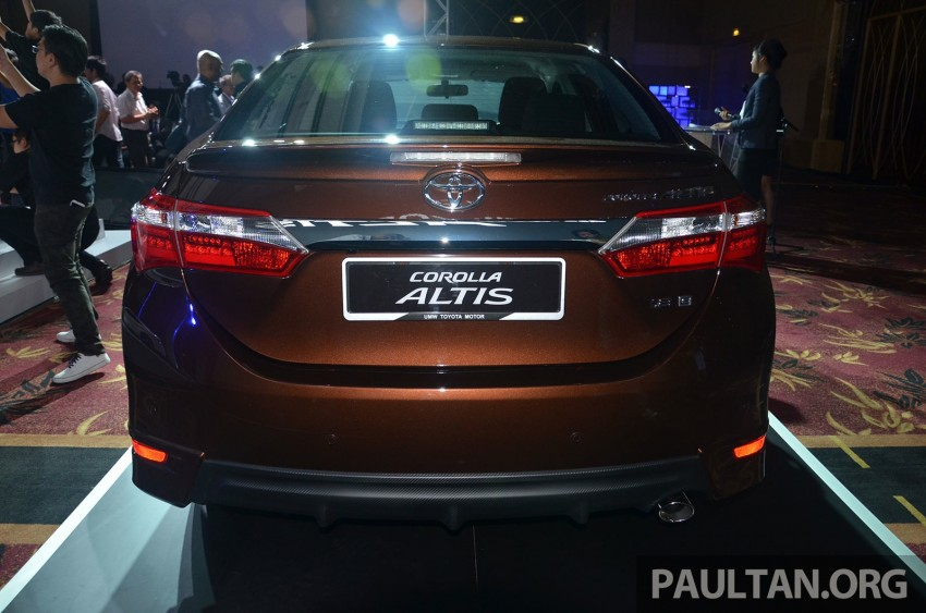 2014 Toyota Corolla Altis officially launched Image #223108