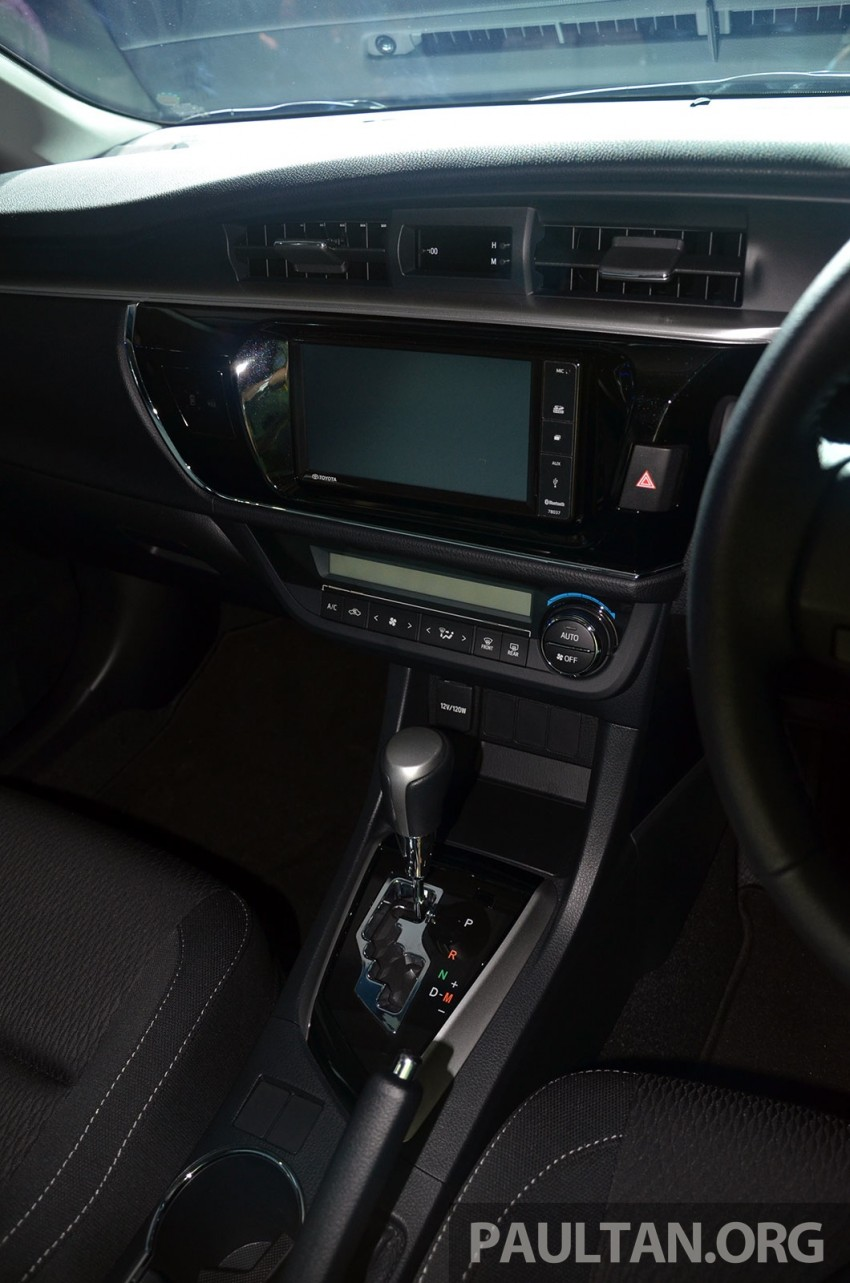 2014 Toyota Corolla Altis officially launched Image #223109