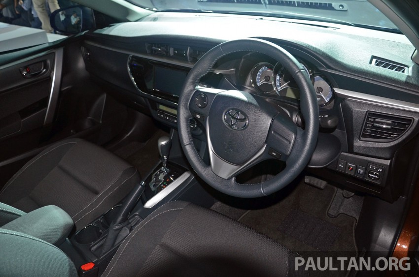 2014 Toyota Corolla Altis officially launched Image #223110
