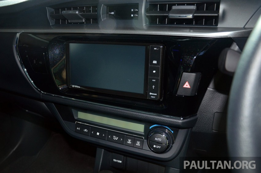 2014 Toyota Corolla Altis officially launched Image #223113