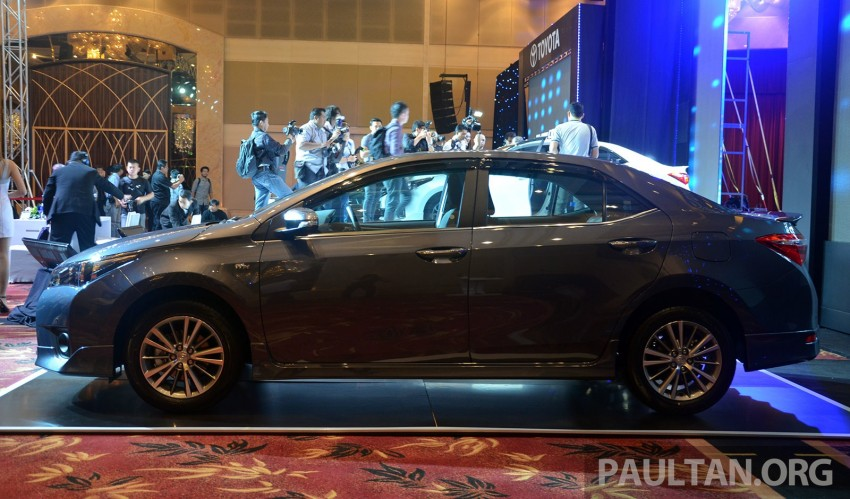 2014 Toyota Corolla Altis officially launched Image #223116