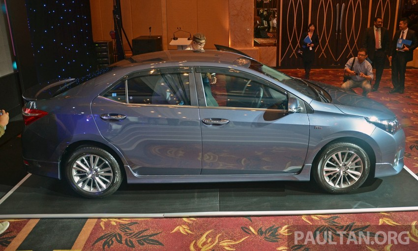 2014 Toyota Corolla Altis officially launched Image #223119