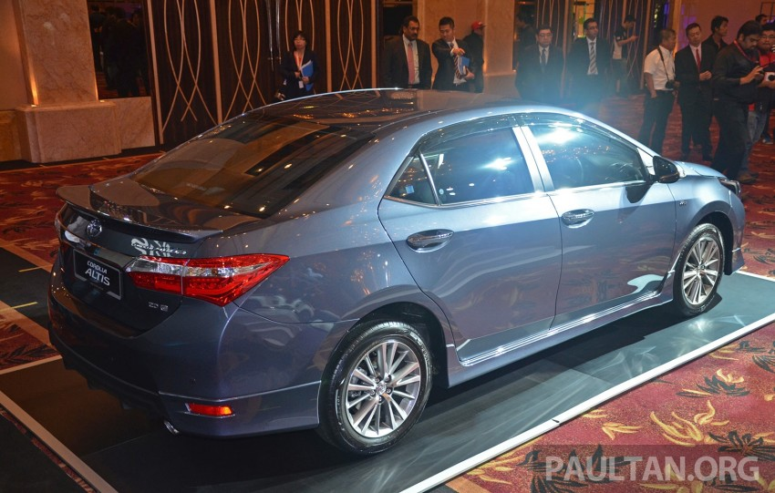 2014 Toyota Corolla Altis officially launched Image #223120