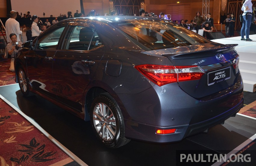 2014 Toyota Corolla Altis officially launched Image #223121
