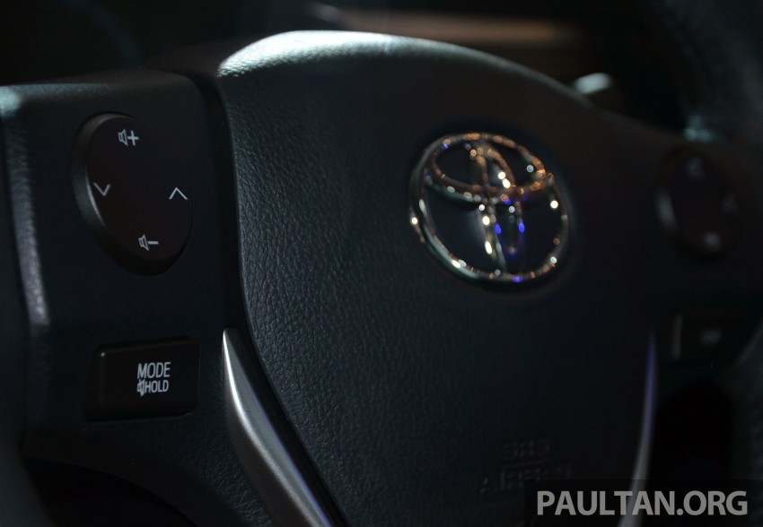 2014 Toyota Corolla Altis officially launched Image #223123