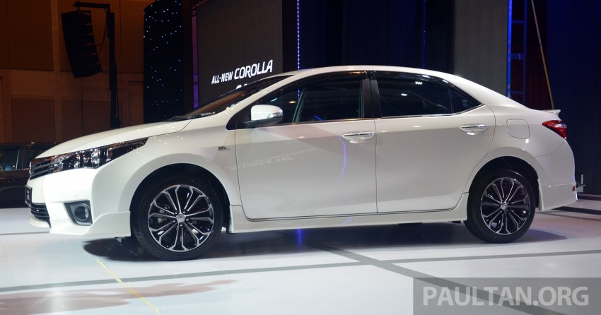 2014 Toyota Corolla Altis officially launched Image #223124
