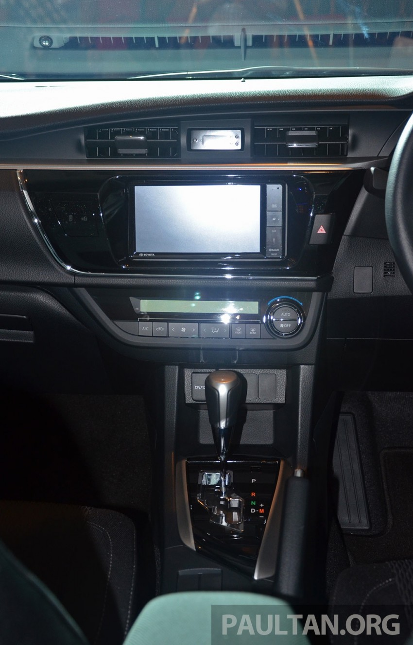2014 Toyota Corolla Altis officially launched Image #223125