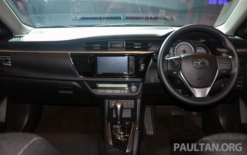 2014 Toyota Corolla Altis officially launched Image #223126