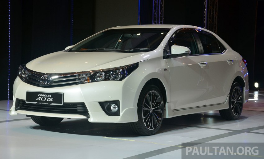 2014 Toyota Corolla Altis officially launched Image #223127