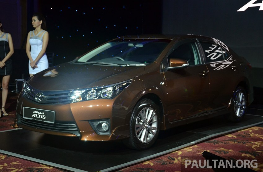 2014 Toyota Corolla Altis officially launched Image #223101