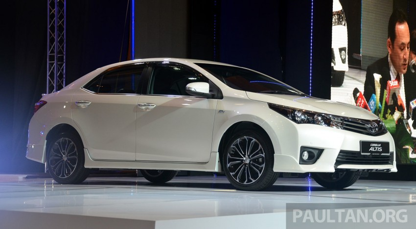 2014 Toyota Corolla Altis officially launched Image #223129