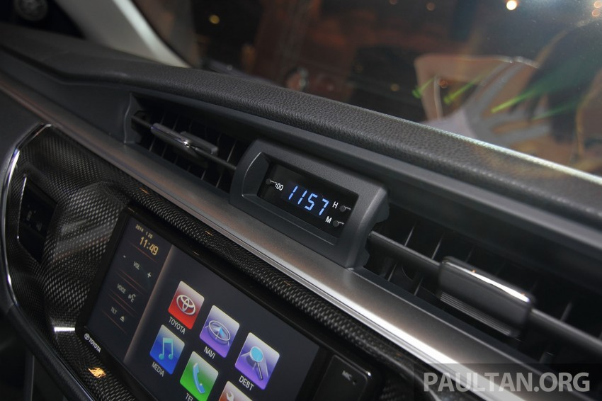 2014 Toyota Corolla Altis officially launched Image #223141