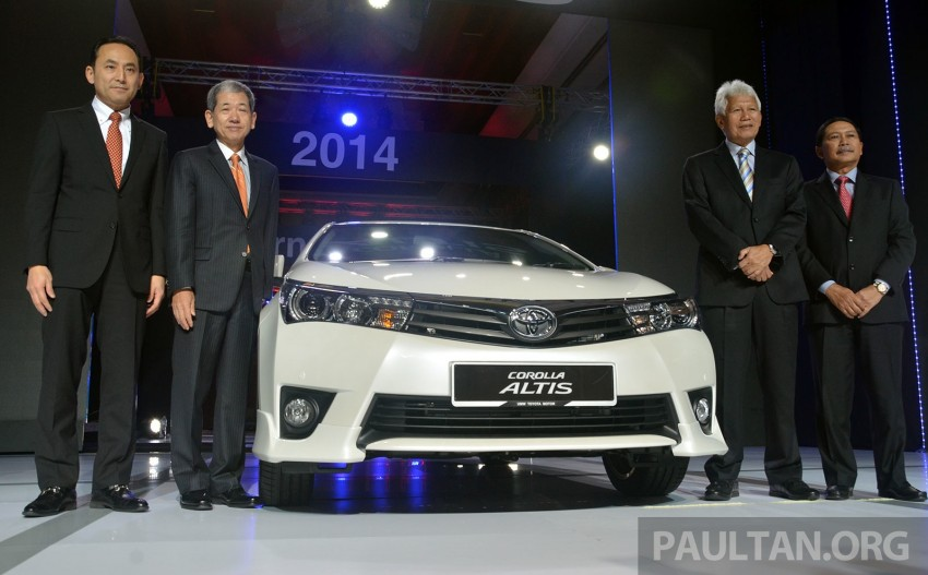 2014 Toyota Corolla Altis officially launched Image #223102