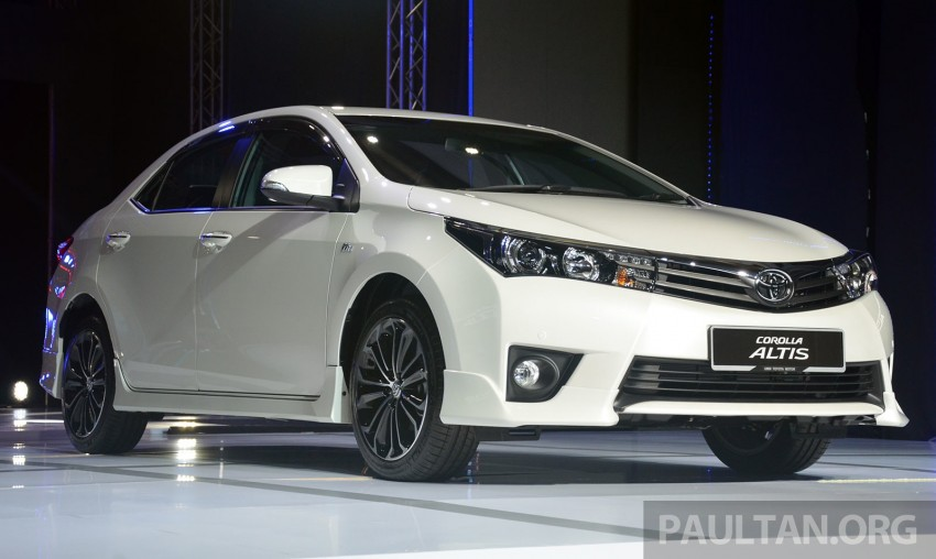 2014 Toyota Corolla Altis officially launched Image #223103