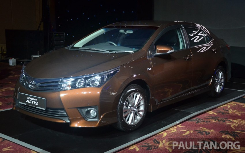 2014 Toyota Corolla Altis officially launched Image #223104